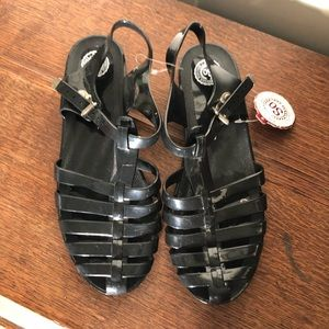 NWT Jelly Sandals